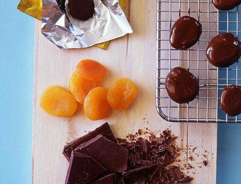 Kayısılı Çikolata