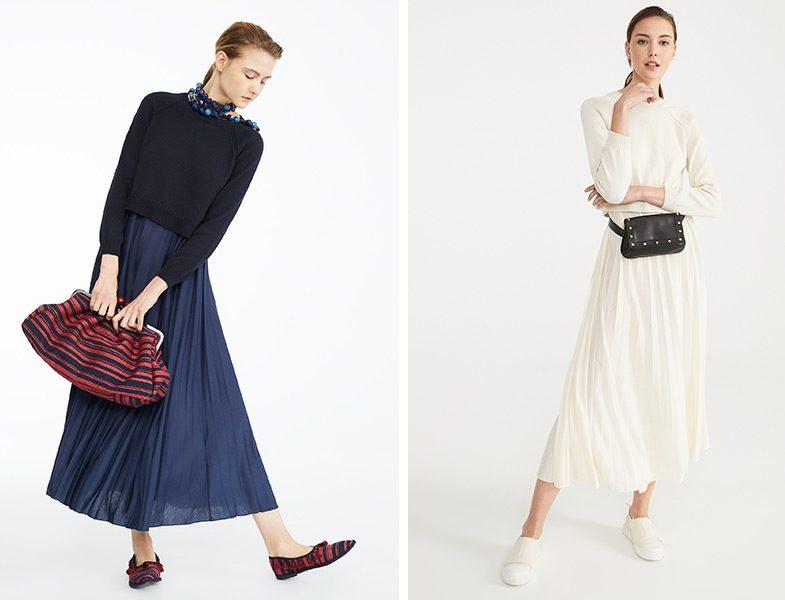 MaxMara İki Parça Görünümlü Elbise