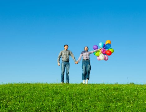 Mutluluğu Yakalayan Çiftler