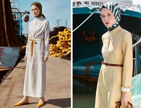 Nihan Giyim 2019 Yaz Elbise ve Pardesü Modelleri