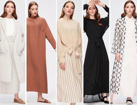 Pure 2019 İlkbahar Yaz Koleksiyonu Tesettür Giyim Modelleri