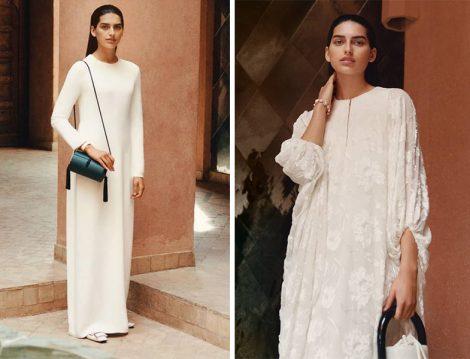 Reem Acra Beyaz Elbise Modelleri