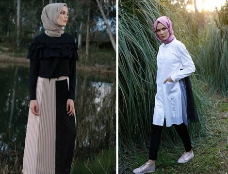 Setrms 2019 İlkbahar Yaz Etek-Bluz ve Tunik Modelleri