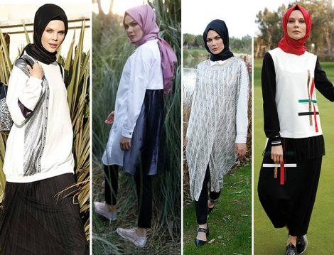 Setrms 2019 İlkbahar Yaz Siyah Beyaz Giyim Modelleri