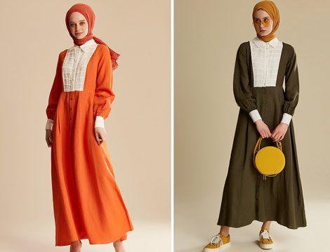 Tuğba Venn 2019 İlkbahar Yaz Keten Elbise Modelleri