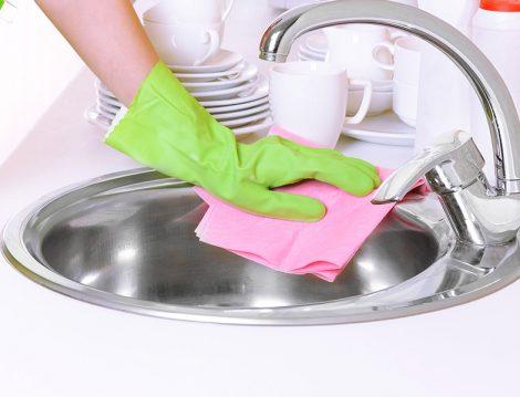 Doğal Yöntemlerle Lavabo Temizliği