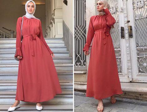 Minal Design Tesettür Elbise