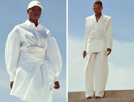 Fenty Beyaz Hazır Giyim Koleksiyonu
