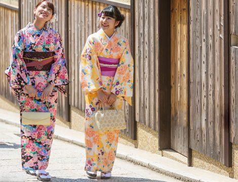 Japon Giyim Tarzı Kimono