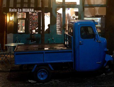 Kafe La Mekan Nostaljik Kamyon