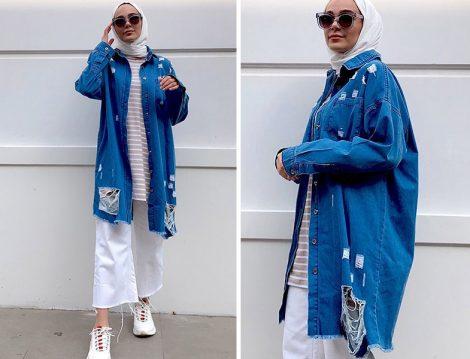 Melike Tatar Denim Gömlek