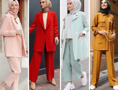 Ofis Stiline Uygun Renkli Takımlar