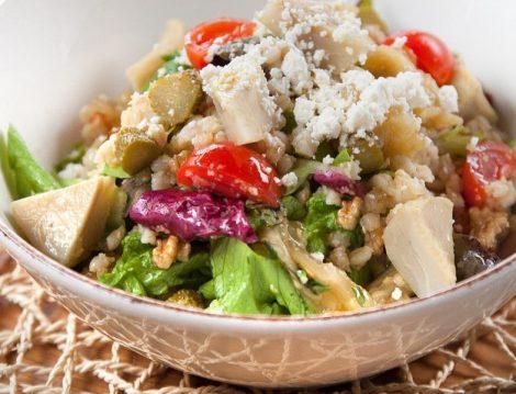 Peynirli Enginar Salatası Tarifi