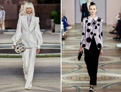 Armani Privé Fall 2019 Couture ve Fendi Fall 2019 Couture Takım