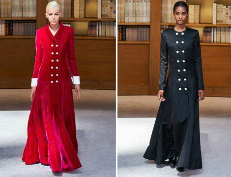 Chanel 2019 Couture Kruvaze Pardesü