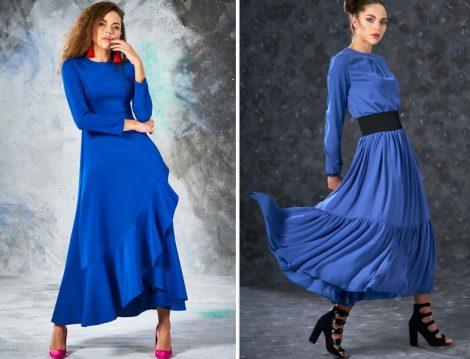 Eda Atalay Mavi Elbise