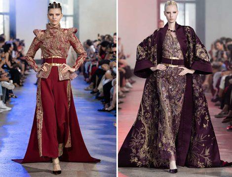 Elie Saab 2019 Couture Kaftan ve Elbise