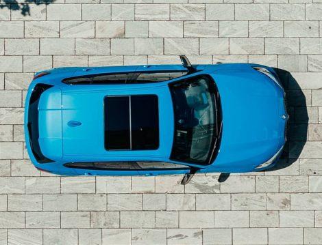 2020 BMW 1 Serisi Üstten Görünüm