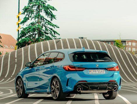 BMW 1 Serisi Arkadan Görünüm