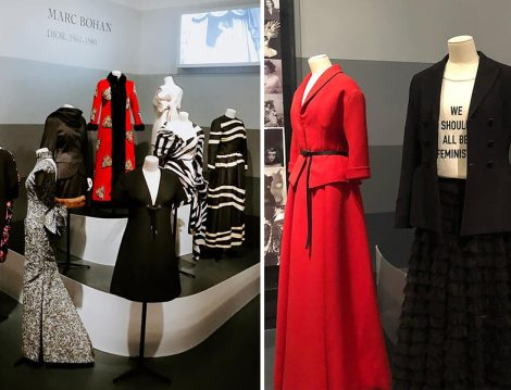 Christian Dior Paristen Dünyaya Sergisi - Etek-Ceket ve Elbiseler