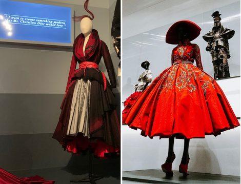 Christian Dior Paris'ten Dünyaya Sergisi - Otantik Tasarımlar