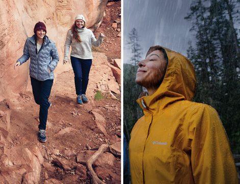 Columbia Trail Koleksiyonu Yağmurluk ve Triko