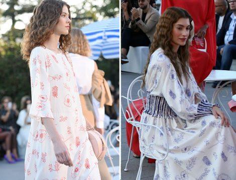 Mehtap Elaidi 2020 İlkbahar Yaz Desenli Elbise ve Tunik
