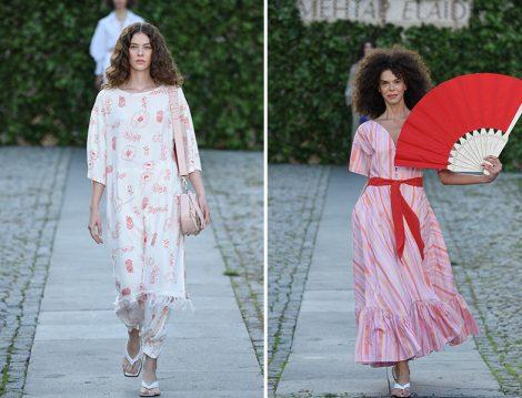 Mehtap Elaidi 2020 İlkbahar Yaz Elbise ve Tunik-Pantolon