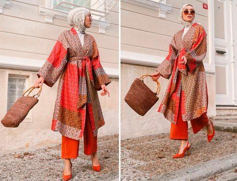 Rimel Aşkına Hilal Akel Fashion Kimono Kombini