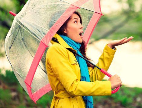 Sonbahar Yağmuru ve Kadın