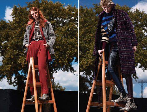 Twist Sonbahar Kış 2019-2020 Ekose Ceket ve Palto