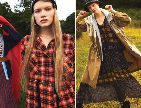 Twist Sonbahar-Kış 2019-2020 Ekose Gömlek ve Elbise