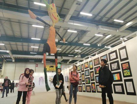Öğrenci Sanat Şenliği Sergisi