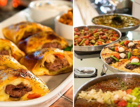 Afyon Karahisar Farina Kebabı ve Tepsi Kebabı