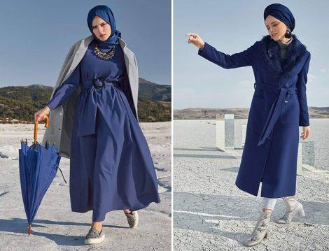 Alvina 2019-20 Sonbahar Kış Manto ve Elbise