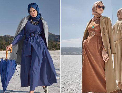 Alvina Giyim 2019-20 Sonbahar Kış Elbise ve Kaban