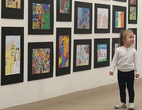 Baksı Müzesi Çocuklarının Eserleri 29. Artist İstanbul Sanat Fuarında Sergileniyor