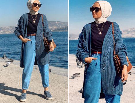 Hülya Aslan Qooq Store Hırka - Slouchy Jean