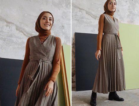 Hilal (Rimelaşkına): Vesna Design Pliseli Jile ve Kazak