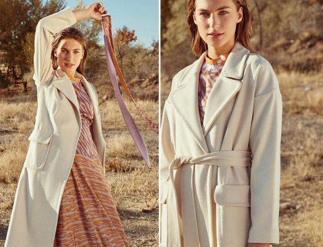 Kayra 2019-20 Sonbahar Kış Elbise - Manto