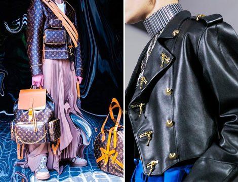 Louis Vuitton Çanta ve Deri Ceket