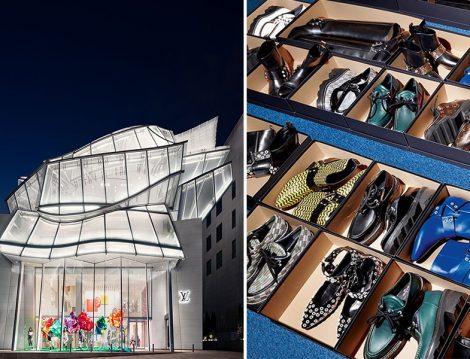 Louis Vuitton Mağaza ve Ayakkabıları