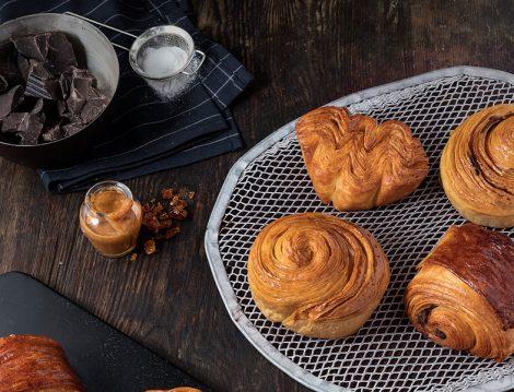 Ünlü Pasta Şefi Karim Bourgi'nin Özsüt İçin Hazırladığı Kruvasanlar