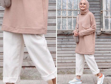 Aleyna Atalar Elif Eser Sweatshirt - Pantolon