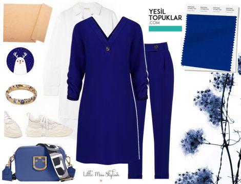 Pantone 2020 Klasik Mavi Nasıl Kombinlenir
