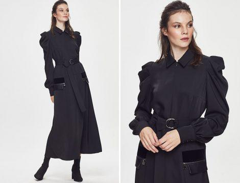 Qui Prive Siyah Elbise