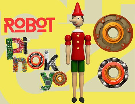"""Pinokyo """"Robot Çocuk"""" Olarak Tiyatro Sahnesinde"""