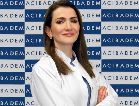 Acıbadem Kadıköy Hastanesi Dermatoloji Uzmanı Dr. Mehtap Kıdır