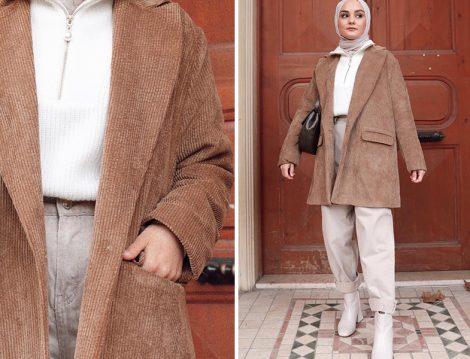 Aleyna Atalar: Garzia İtalia Fitilli Kadife Ceket