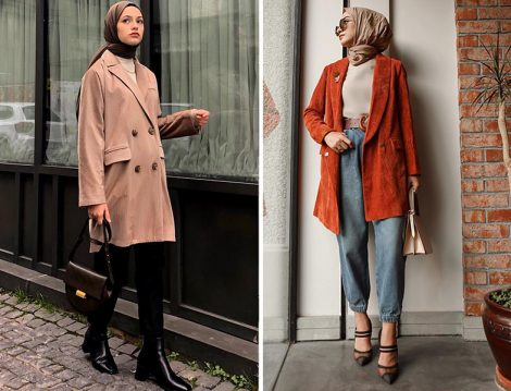 Ayşe Coşkun: Aybike Tekstil Kadife Ceket - Sena Sever: Gülsüm Sevim Kadife Ceket